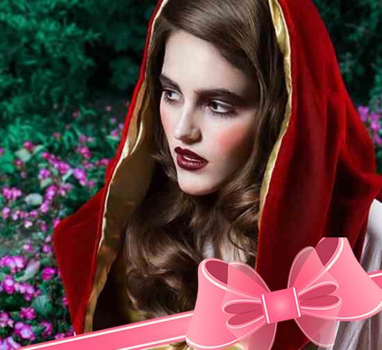 Макияж Красной Шапочки - Игры для девочек